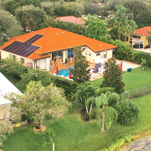 Solar Array, Weston, Miami-Dade, Florida