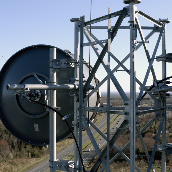 Microwave Tower Inspection