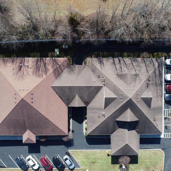 Birdseye Commercial Building