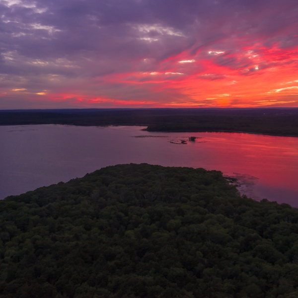 Wordens Pond Sunset