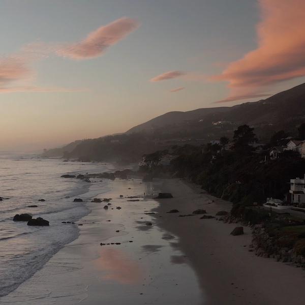 Point Mugu at Sunset