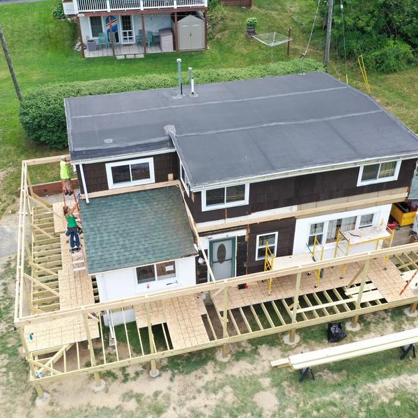 Construction Porch