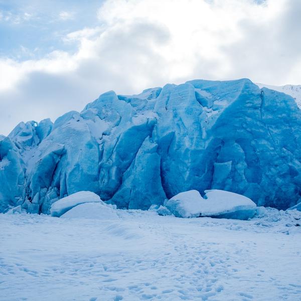 Spencer Glacier, Alaska