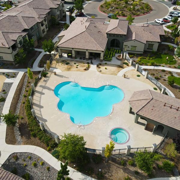 Apartment Pool and Rec Center