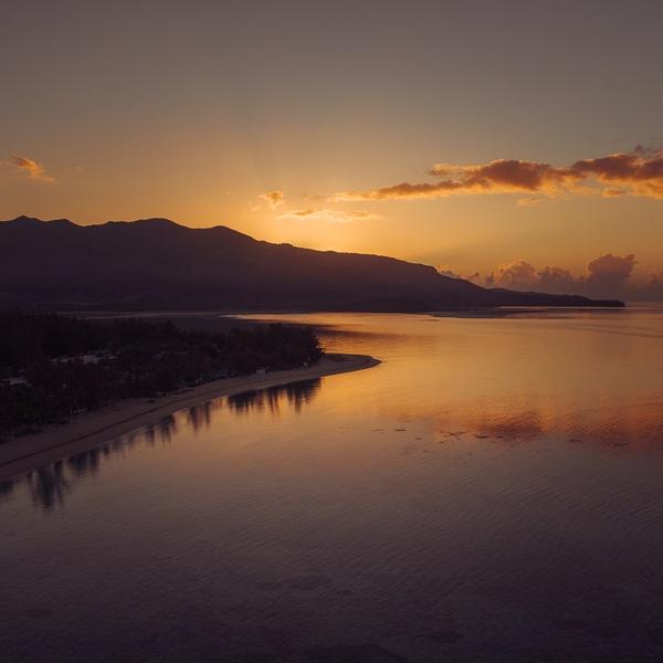 Sunrise at Le Morne, Mauritius