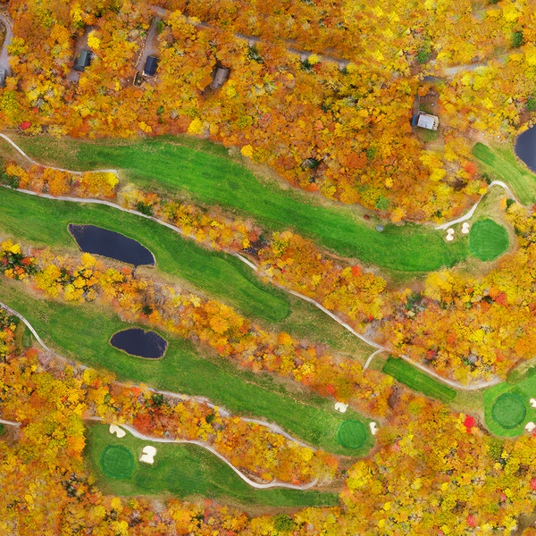 Map of Frye Island Golf Club, Frye Island, Maine