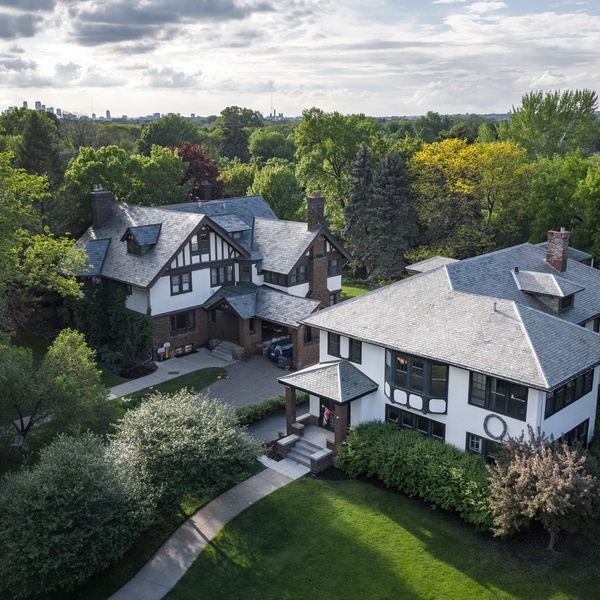 Summit Avenue - Twin Cities Real Estate Drone Photography