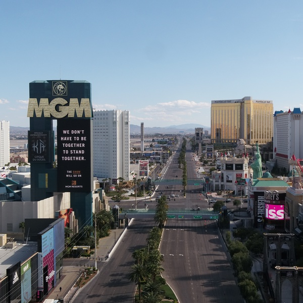 Las Vegas Strip - MGM, NYNY, McCarran IAP