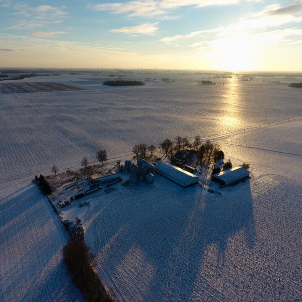 Harner Family Farms Aerial Photo