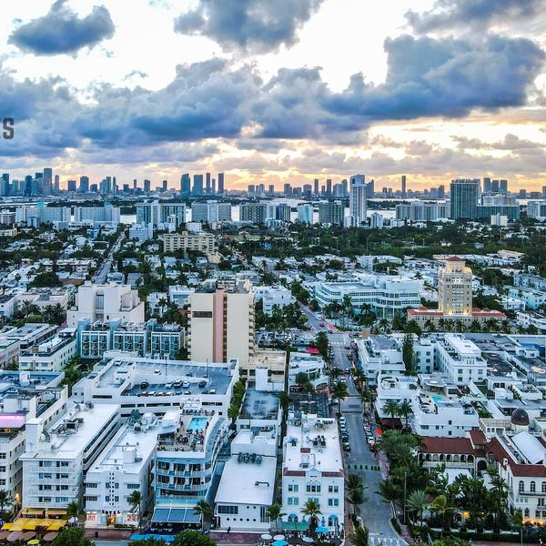 Miami Beach Mavic Air 2 HDR