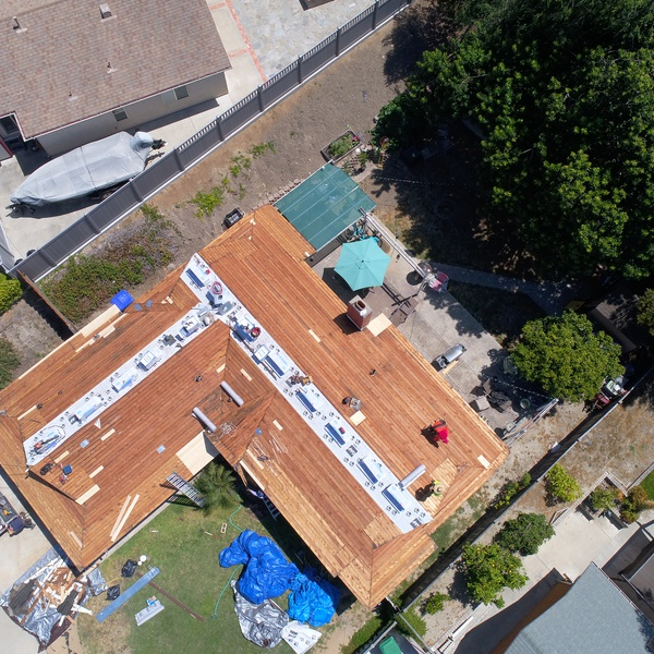 Roof Inspection (wood replacement)
