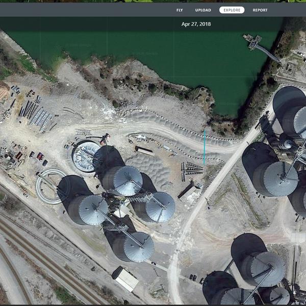 Ethanol Plant Overhead Imagery
