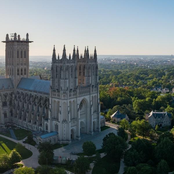 The Washington National Cathedral in Washignton, DC