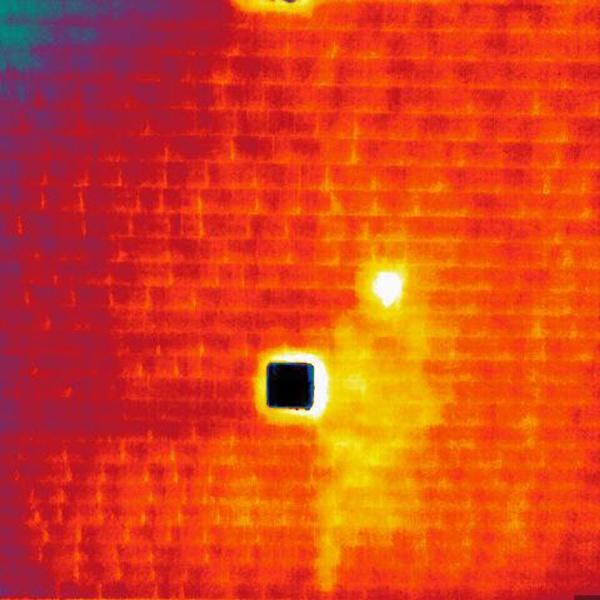 Roof leak IR Thermal