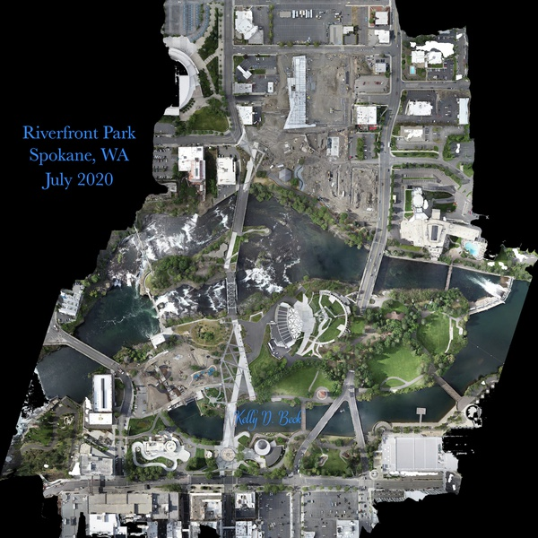 Riverfront Spokane - Construction Mapping Update - July 2020