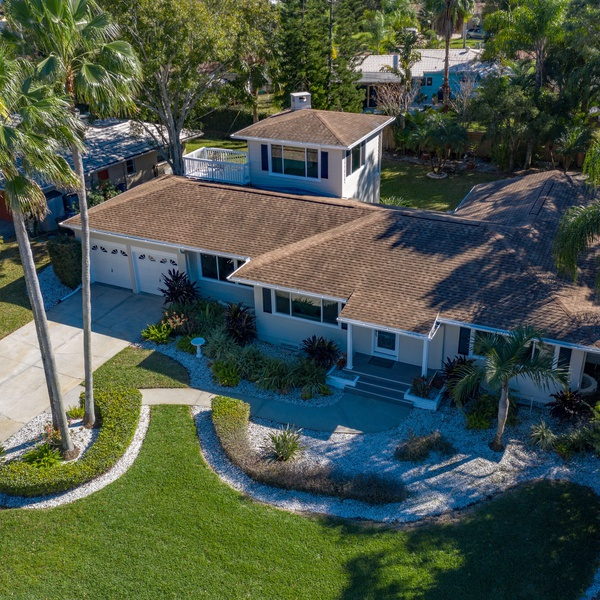 Real Estate Aerial Example - Home Front