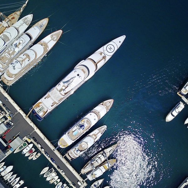 Port Hecules Monaco - Monte Carlo - Example of my Marina Imaging Services