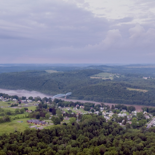 Overview of Parker, PA