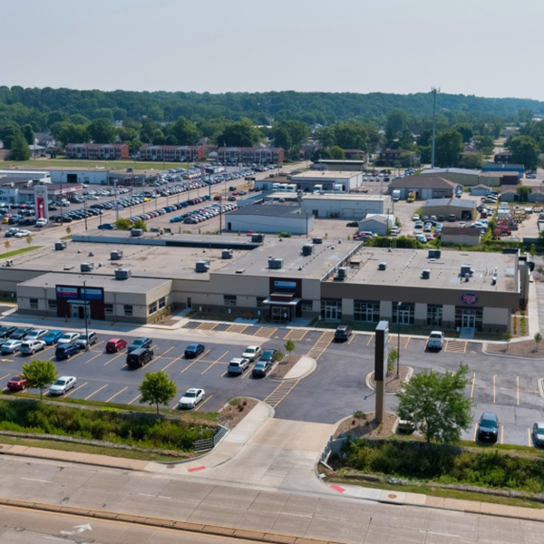 Aerial Mall