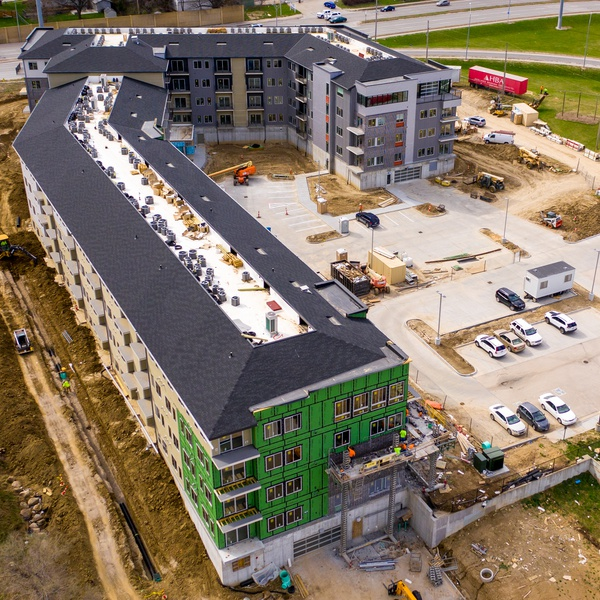 Drone Photography - Construction