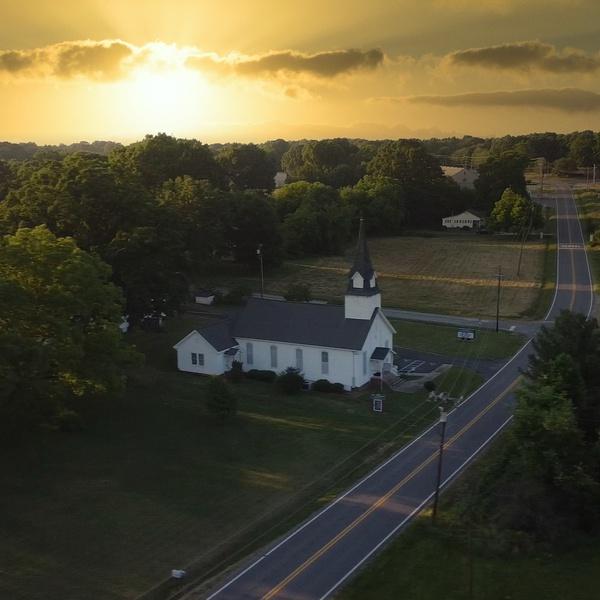 Enochville NC sunset