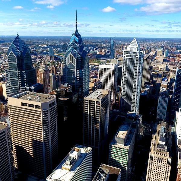 Philadelphia Center City Skyline (East Side)