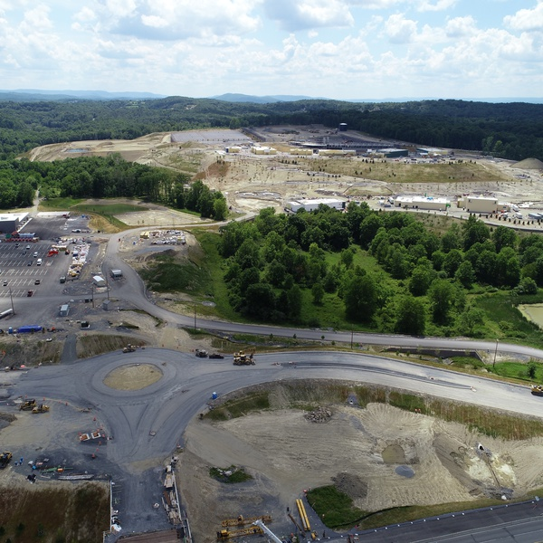 Large Scale Construction Site Overview