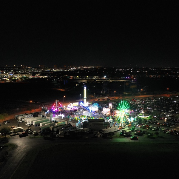Nighttime Ferris Wheel