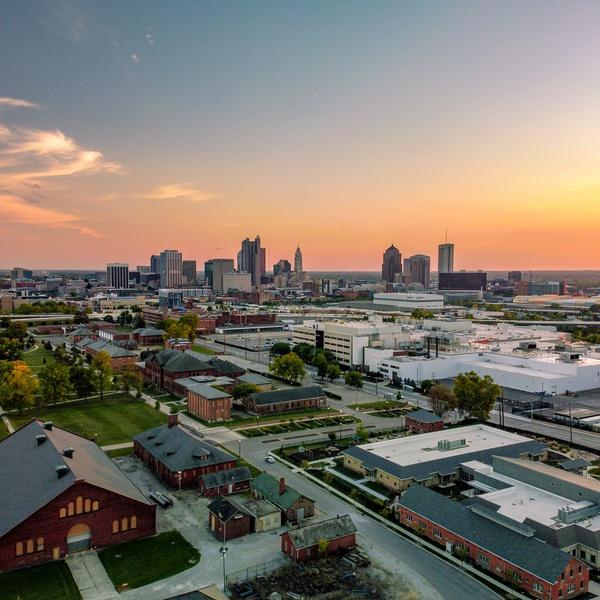 Evening in Columbus Ohio