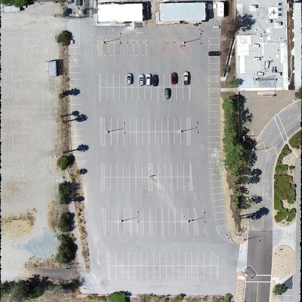Parking Lot Orthomosaic