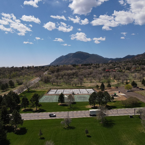 Cheyenne Mountain area Colorado Springs