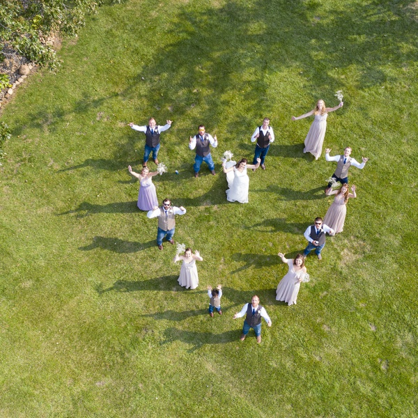 Weddings From the Air!