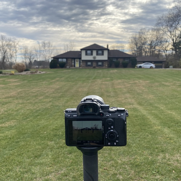DELIVERING GROUND PHOTOGRAPHY AS WELL - SONY ALPHA 7iii