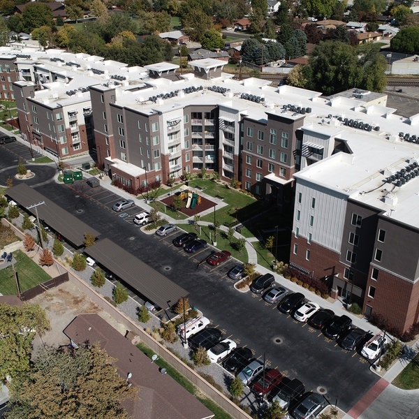 Aerial Perspective - Real Estate - Architecture
