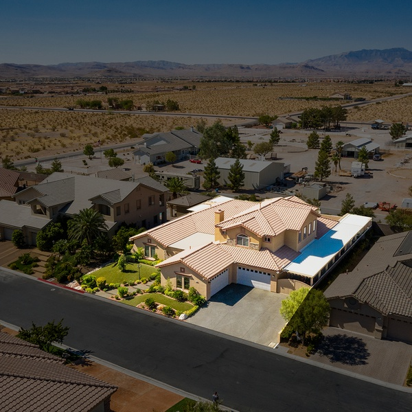 Aerial Real Estate Photo with Property Outline by Aces Up Media