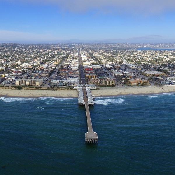 Crystal Pier, Pacific Beach, San Diego, CA