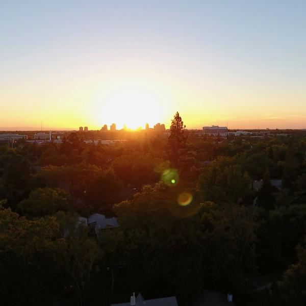 Downtown Sacramento, Sunset