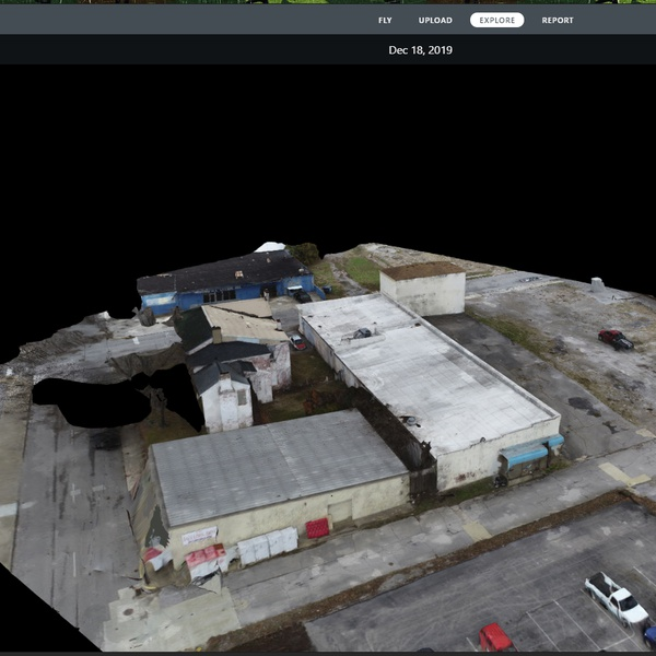 To Be Demolished - Interactive 3D Model (Oblique Imagery)