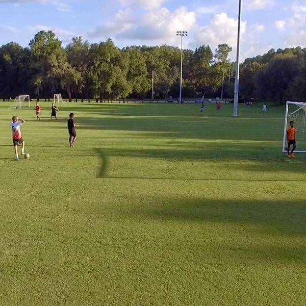 Soccer Kids (snapshot from video panning)