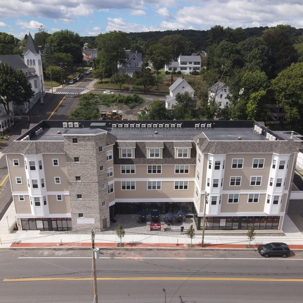 New apartment building Cedar Village at Carroll's in Shelton, CT