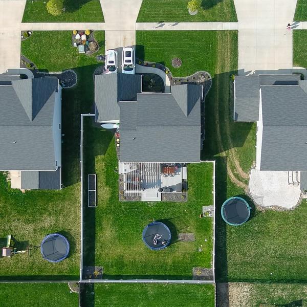 Suburbia from 400', Avon, Ohio