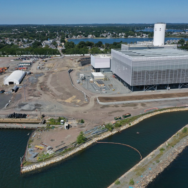 Salem Harbor Power Station Construction Photography and progress documentation
