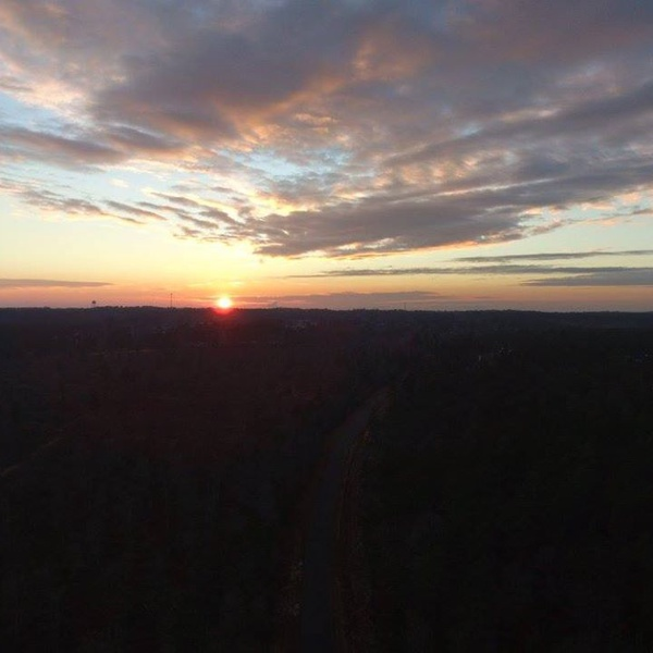 Southern Sunset Drone Style