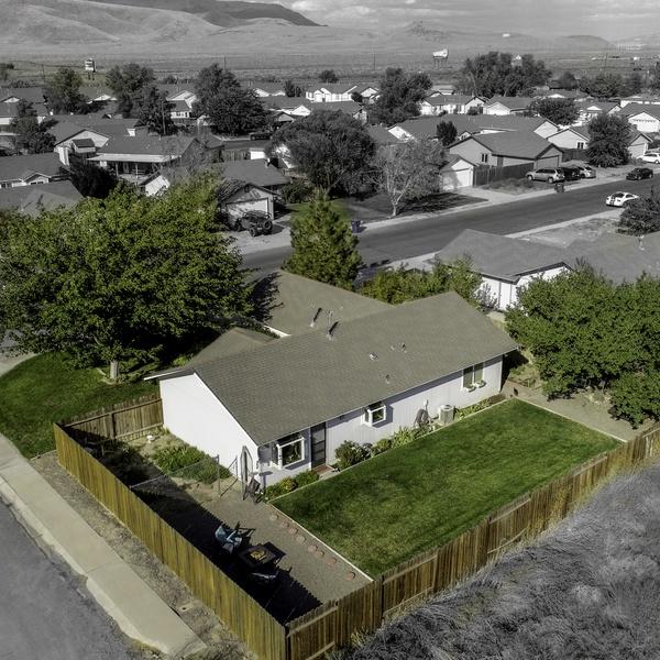 Real estate desaturated surroundings