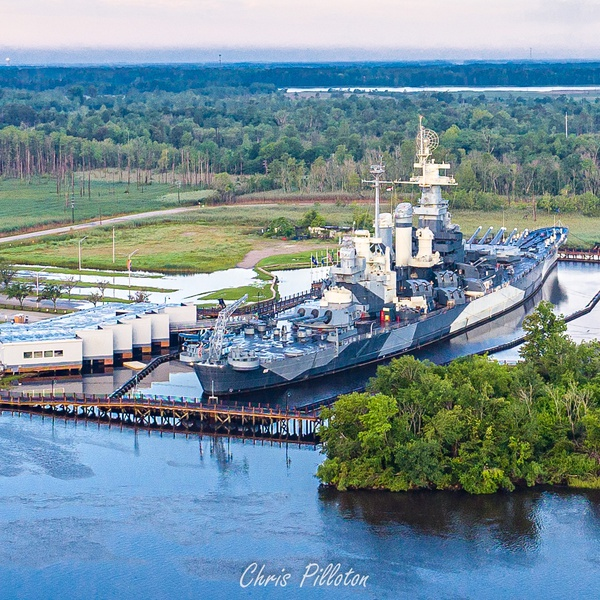 North Carolina Battleship