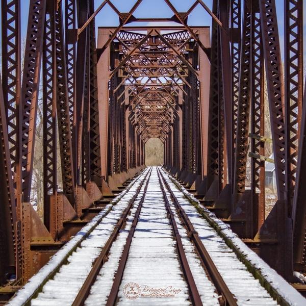 Grand Rapids Ohio Train Bridge