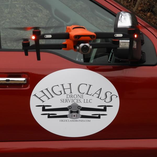 High Class Drones logo