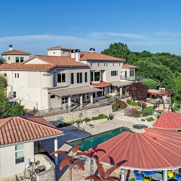 Aerial Luxury Estate