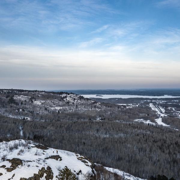 Ely's Peak - Visit Duluth Aerial