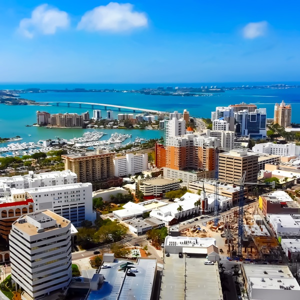 Downtown Sarasota, Florida - Example of my Real Estate Imaging Services